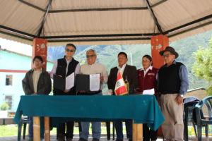 Instituto de Montaña y SERNANP firman convenio de cooperación interinstitucional