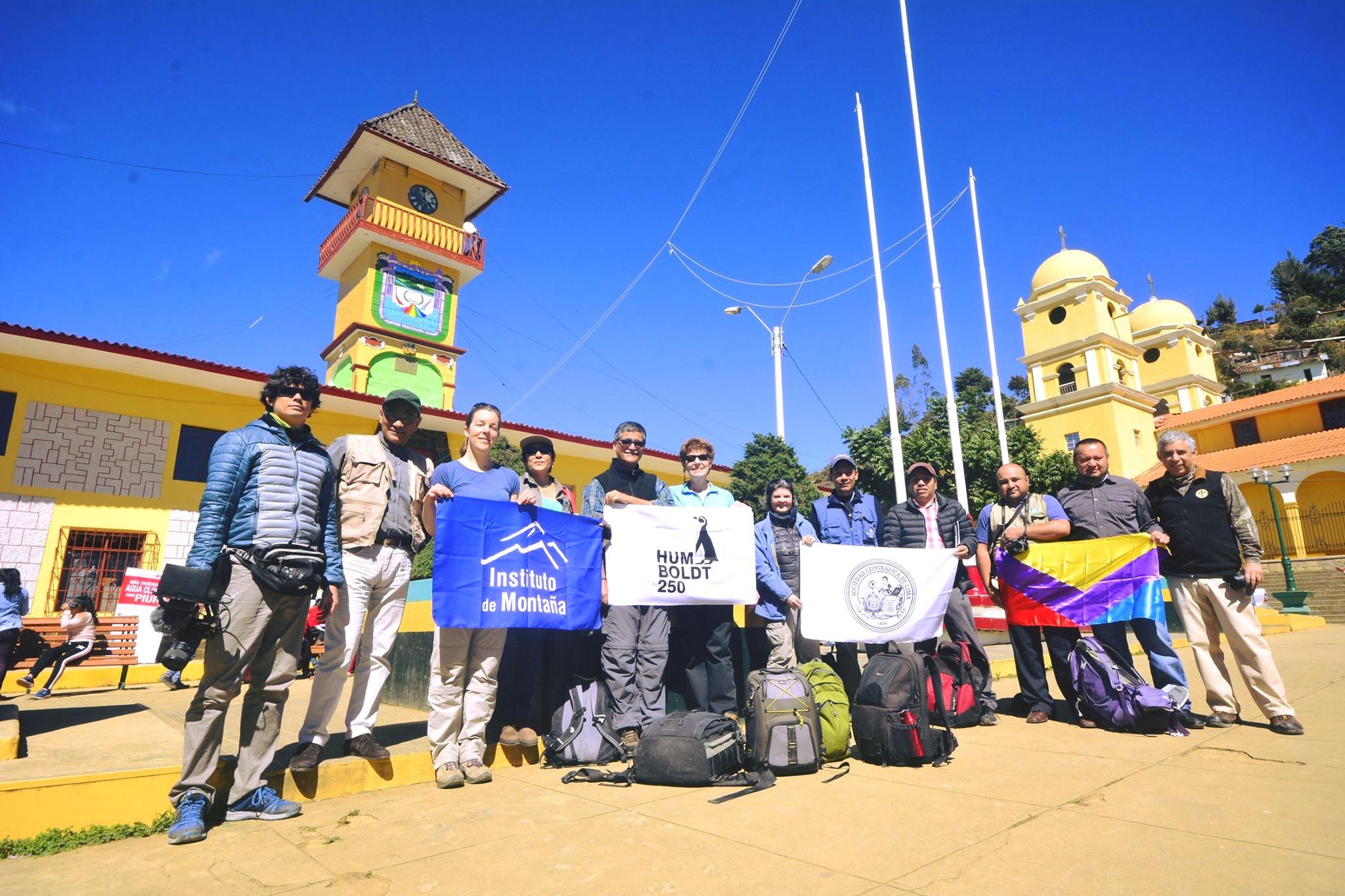 Recreando la expedición de 1802 de Alexander von Humboldt en el norte de Perú