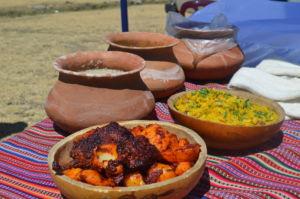 El tradicional picante de cuy, preparado por las madres de las comunidades campesinas en Ancash