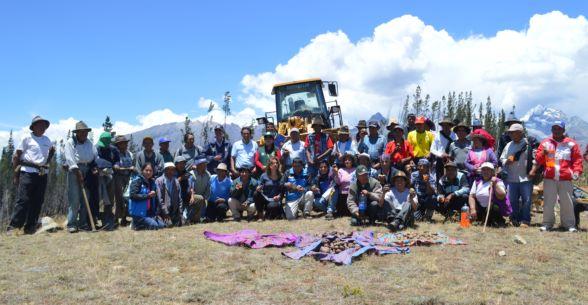 Primera piedra de sistema de biorremediación del agua en Huaraz