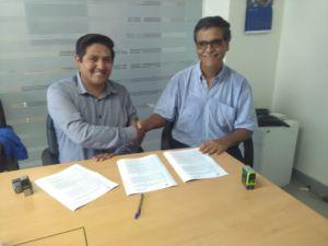 Municipalidad Distrital de Antonio Raimondi e Instituto de Montaña, firman importante convenio.