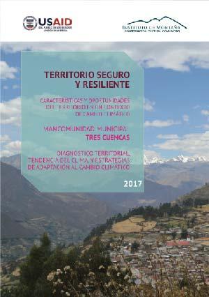 Territorio seguro y resiliente – Mancomunidad Municipal Tres Cuencas