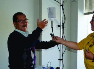 Ing. Rafael Figueroa, Responsable del Centro de Investigación Ambiental de la UNASAM