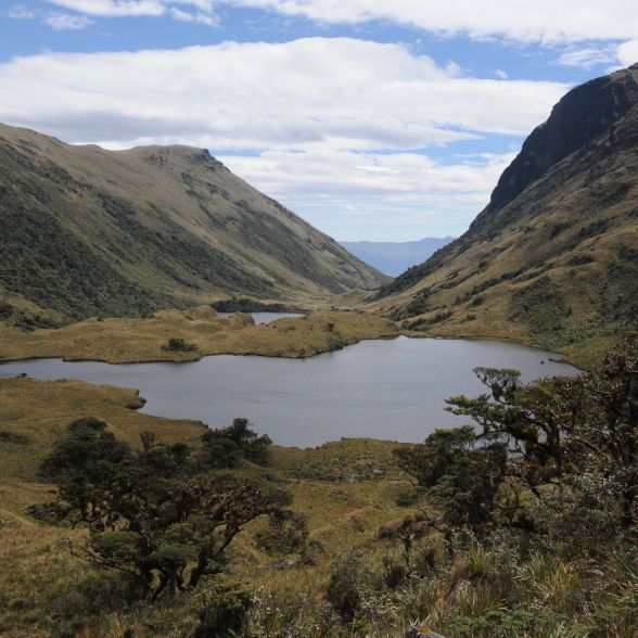 Laguna La Cruz – En los páramos de Pacaipampa – Ayabaca