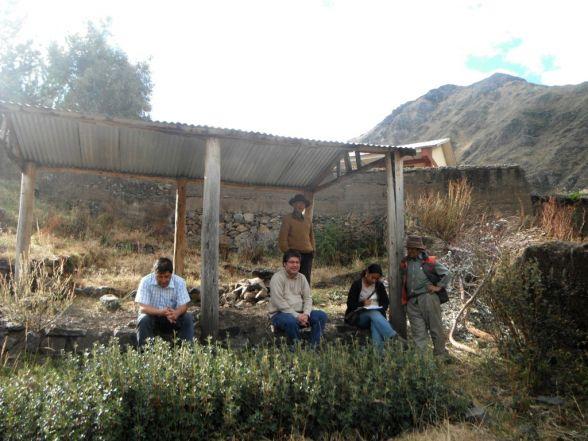 Vivero Forestal en Aquia