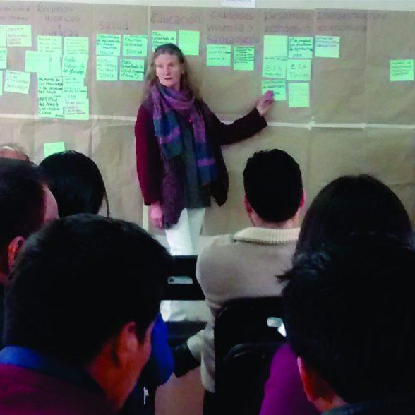 Christine Giraud, coordinadora para desarrollar la Estrategia Regional de Cambio Climático en Ancash