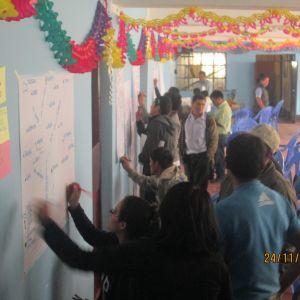 Retratando las actividades que desarrollan en el distrito de San Nicolás y cuáles se ven afectados por el cambio climático