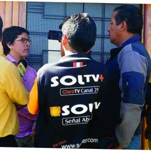 En entrevista con los medios periodístico de Huaraz, Rogger Morales de la Dirección General de Cambio Climático, Desertificación y Recursos Hídricos del Ministerio del Ambiente