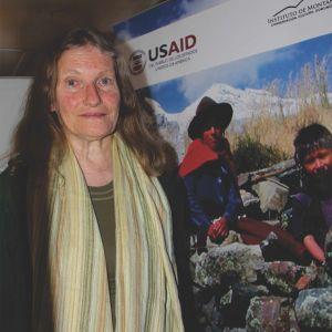 Christine Giraud, coordinadora del proceso de la Estrategia Regional del Cambio Climático