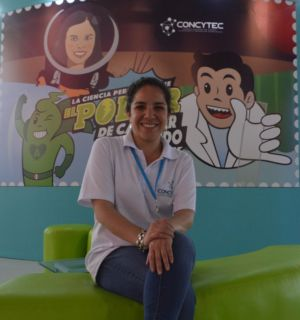 Mildred Agustín (CONCYTEC)